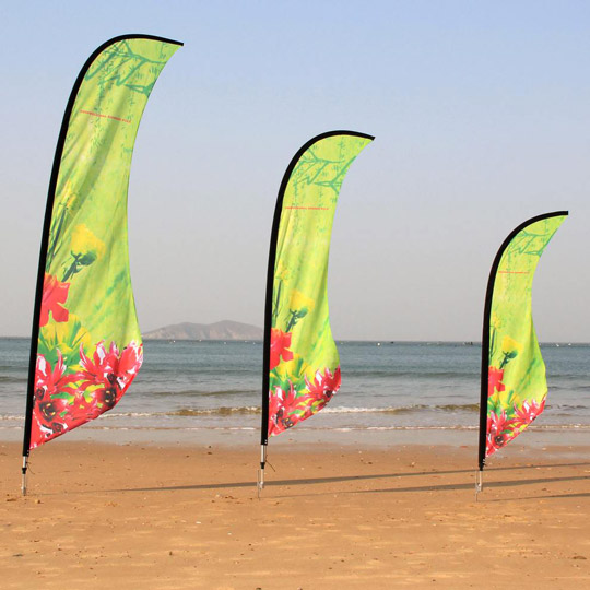 Graffiks.ca - Beachflag
