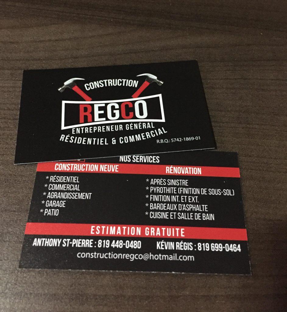 cartes affaires