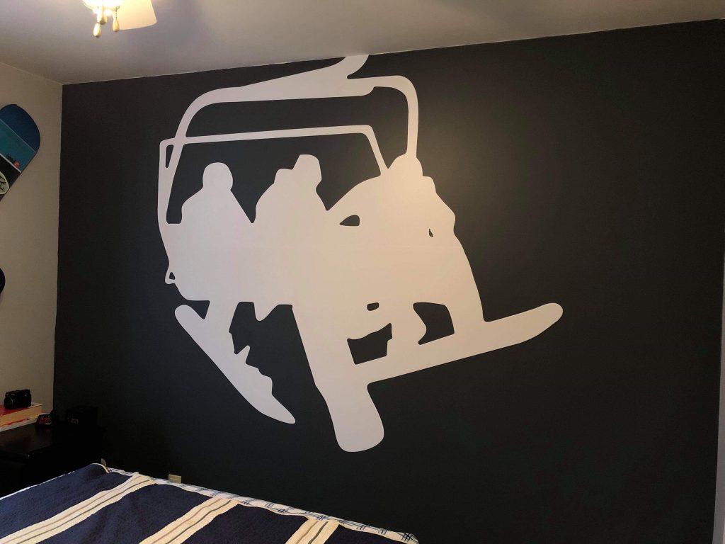 Murale, autocollants muraux
