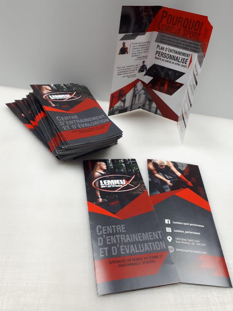 depliants, brochure, flyers