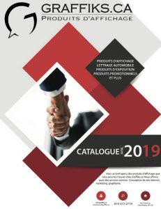 Graffiks.ca, catalogue produits