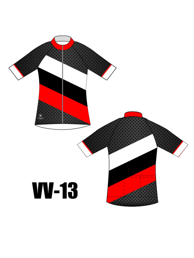Chandail cyclisme, sublimation
