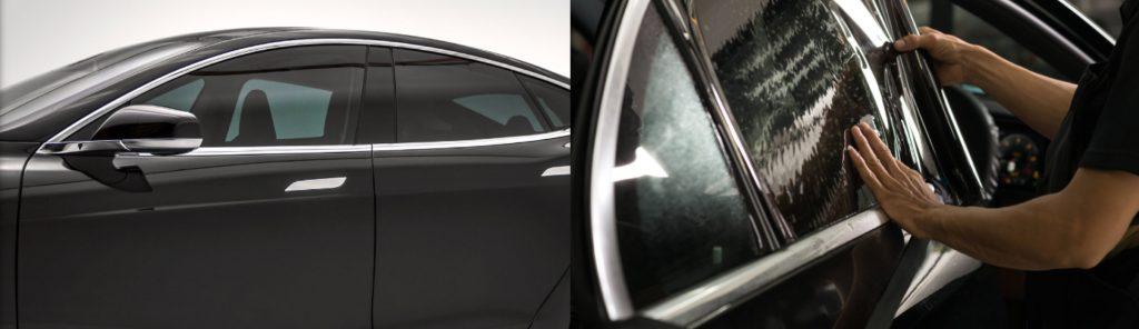 vitres teintées, pellicule, noir, degré, visium, teinte, teintage, voiture, camionette, camion, véhicule